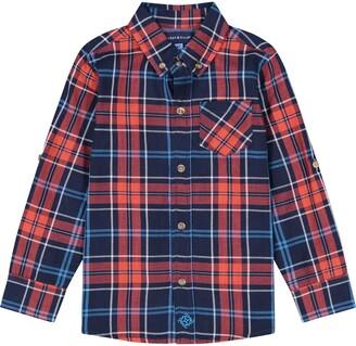 Andy & Evan Checkered Button Down Shirt