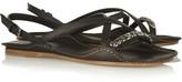 Bottega Veneta Chain-trimmed leather sandals