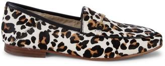 Sam Edelman Loraine Leopard Calf Hair Loafers