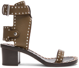 Isabel Marant Jaeryn Pomponius Calfskin Leather Sandals