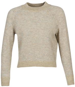 Only ONLFRANJA women's Sweater in Beige