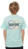 Zoo York New Boys Kids Boys Master Tee Crew Neck Short Sleeve Cotton Green