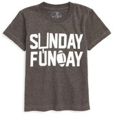Kid Dangerous Sunday Funday Graphic T-Shirt (Toddler Boys & Little Boys)