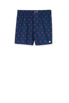 Country Road Compass Print Boxer