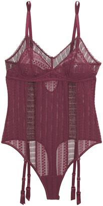 ELSE Lolita Cutout Lace Bodysuit