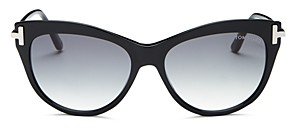 Tom Ford Women's Kira Cat Eye Sunglasses, 56mm