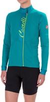 Castelli Sorriso Cycling Jersey - Full Zip, Long Sleeve (For Women)