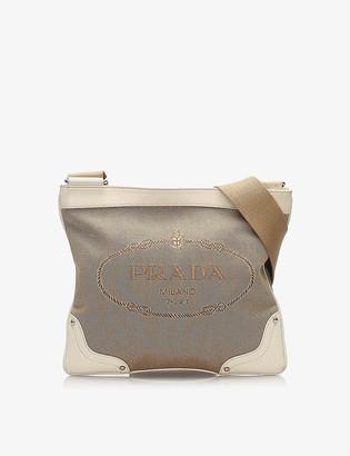 Resellfridges Pre-loved Prada Canapa canvas cross-body bag