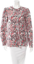 Stella McCartney Floral Print Silk Top