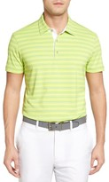 Bobby Jones Men's File Tech Stripe Golf Polo