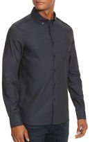 Kenneth Cole New York Button-Front Cotton Sportshirt
