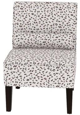 Alcott Hill Thurston Slipper Chair Fabric: Ancient Stewart Red