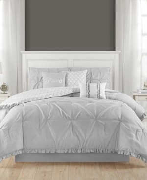 Jessica Sanders Ruffled 7 Piece Full Comforter Set Bedding