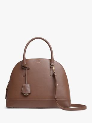 Radley Anchor Mews Leather Medium Dome Grab Bag