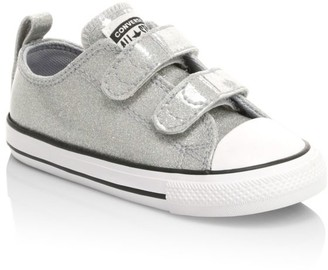 Big Kids Converse Kids Girls Sparkle French Terry Joggers