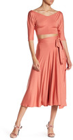 Rachel Pally Midi Wrap Skirt