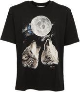 Ami Alexandre Mattiussi Black Wolves T-shirt