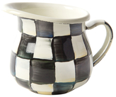 Mackenzie Childs Courtly Check Little Creamer