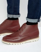 Kickers Kymbo Mocc Leather Lace Up Boots