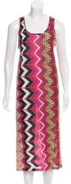 Carven Abstract Midi Dress