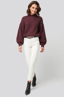 MANGO Sayana Jeans White