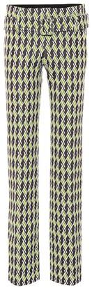 Prada Technical jacquard knitted pants