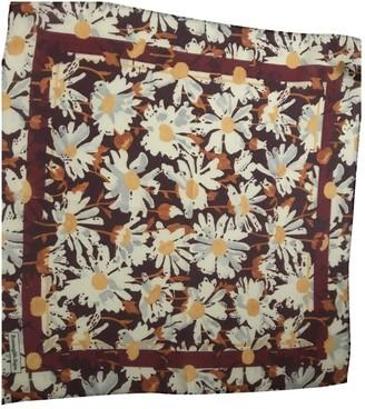 Ermenegildo Zegna Ecru Silk Scarves & pocket squares