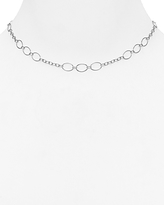 Argentovivo Chain station Necklace, 16