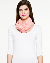 Le Château Jersey Knit Infinity Scarf