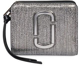 Marc Jacobs Mini Metallic Leather Wallet