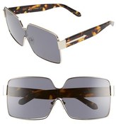 Karen Walker 'Moonwalk - Arrowed by Karen' 67mm Rectangular Sunglasses