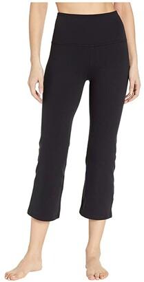Beyond Yoga High Waisted Original Capri (Jet Black) Women's Casual Pants