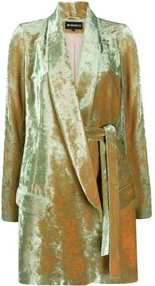 Ann Demeulemeester Mid-Length Velvet Coat