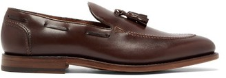 O'Keeffe's Okeeffe - Excalibur Tasselled Leather Loafers - Mens - Dark Brown