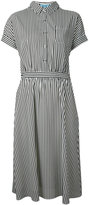 GUILD PRIME striped shirt dress - women - Polyester - 34