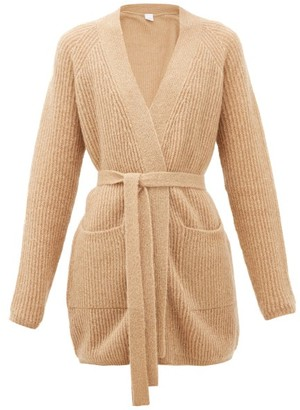 MAX MARA LEISURE Cognac Cardigan - Gold