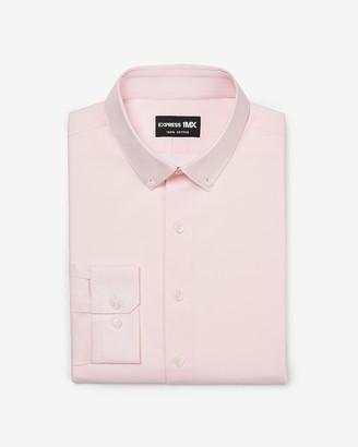 Express Slim Stretch Cotton Button-Down 1Mx Dress Shirt