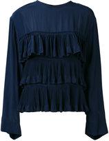 Marni ruffle blouse - women - Silk/Acetate - 44