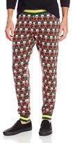 Alex Stevens Men's 8-Bit Santa Ugly Christmas Jogger Pant