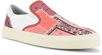 Amiri Bandana Reconstructed Slip On in Coral | FWRD