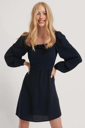 Trendyol Collar Detailed Mini Dress