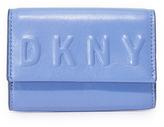 DKNY Debossed Card Case