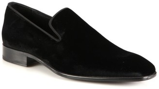 Saks Fifth Avenue COLLECTION Velvet Loafers