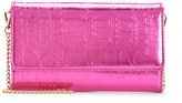 Juicy Couture Outlet - CASCADING JUICY METALLIC CROSSBODY WALLET