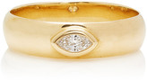 Marquis Zoe Chicco 14K Yellow Gold & Cut Diamond Band