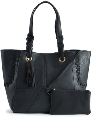Mellow World Amberly Whipstitch Tote