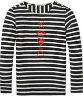Scotch & Soda Long Sleeve Breton T-Shirt