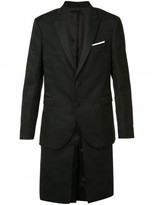 Neil Barrett layered blazer