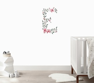 Pottery Barn Kids Urbanwalls Floral Letter Wall Decal