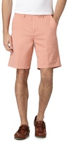 Maine New England Big And Tall Light Peach Chino Shorts